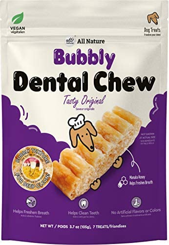 All Nature Bubbly Dental Chews 105g