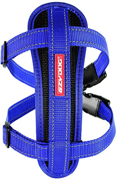 Ez Dog Chest Plate Harness/Reflective Piping with Car Restraint