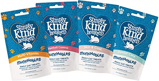 Simply Kind Hearted Daily Cat Treats
