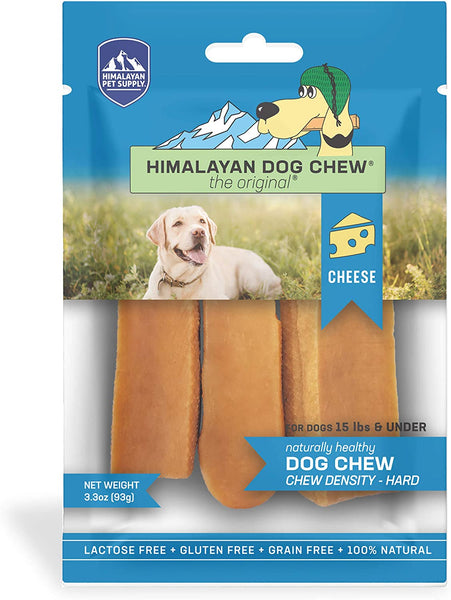 Himalayan Dog Chew Peanut Butter 3 Pack 3.3 oz