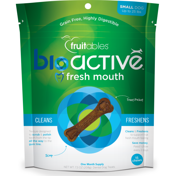 Fruitables Bioactive Fresh Mouth Chews