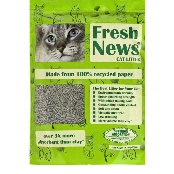Fresh News - Paper Cat Litter 11.34 kg