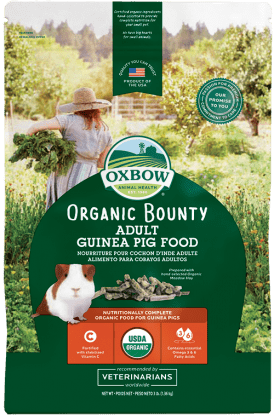 Oxbow Organic Bounty Adult Guinea Pig Food