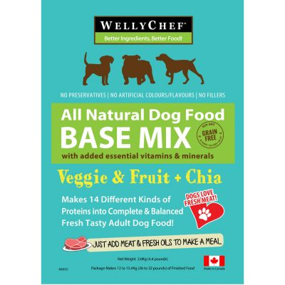 Welly Chef All Natural Dog Food Mix