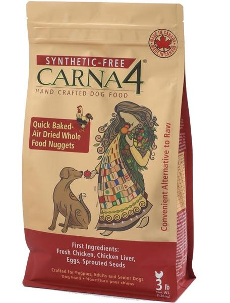 Carna4 Grain Free Dog Food, Sprouted Seeds, Whole Vegetables