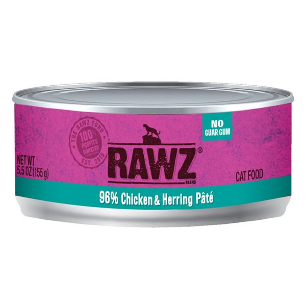 Rawz 96% Meat Cat Wet Formula
