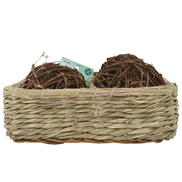 OXBOW Curly Vine Ball Basket
