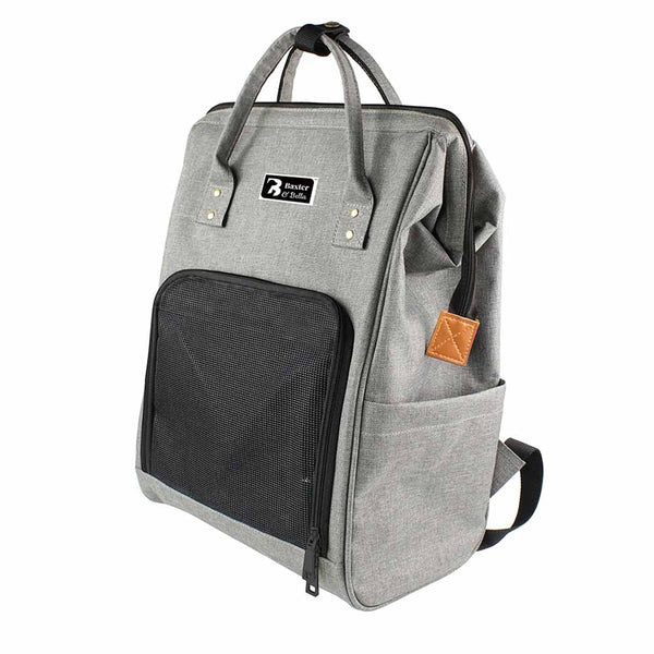 Baxter & Bella Pet Backpack Size: 11.8x7.8x17in