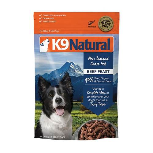 K9 Natural Freeze-Dried Feast, 500g