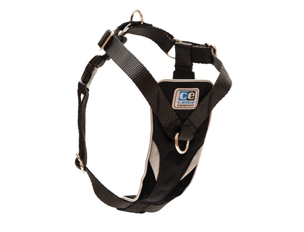 Canine Equipment Ultimate Control Harness - Black, small