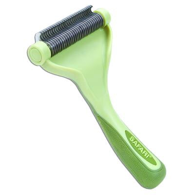 Safari Shed Magic Cat  De-Shedding Tool, medium/long hair