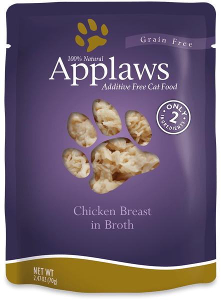 Applaws Chicken Breast in Broth, 70g