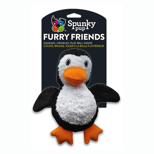 Spunky Pup furry friends Penguin