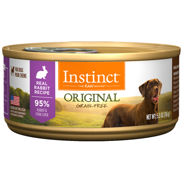 Instinct Rabbit for dogs 156g