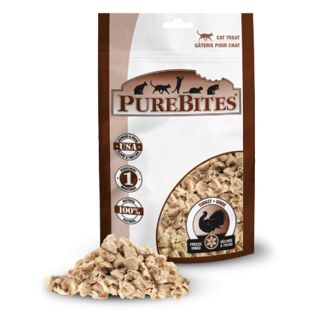 Pure Bites Turkey Freeze Dried Cat Treats, 14g