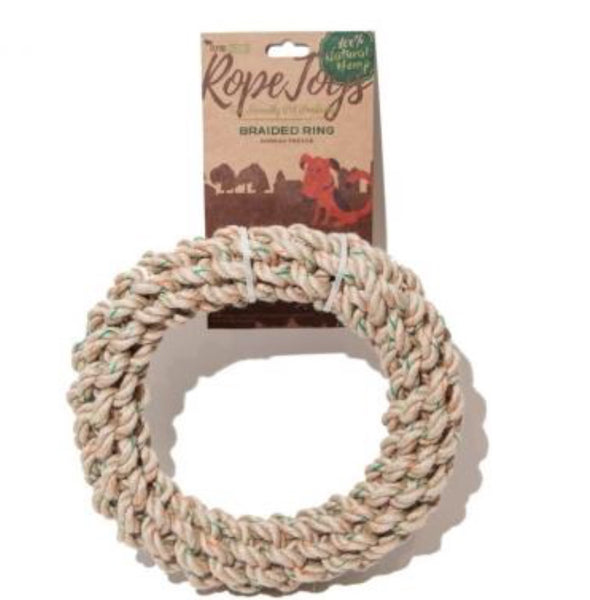 Define Planet Braided Ring Hemp Rope M-18