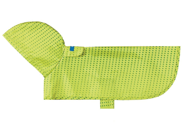 RC Pet Products Rain Poncho Lime Half Tone