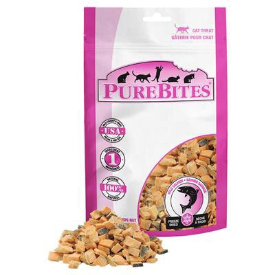 Pure Bites Freeze Dried Wild Salmon Cat Treats (14g)