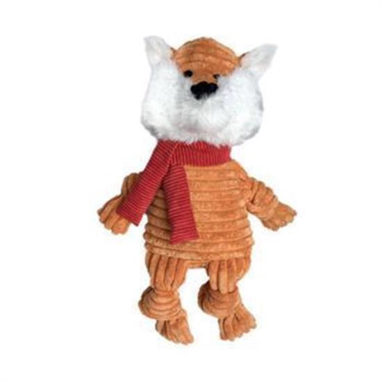 FouFou Dog Knotted Holiday Toy, Large Fox