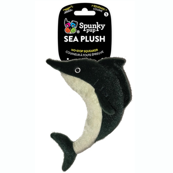 Spunky Pup Sea Plush Dolphin, small