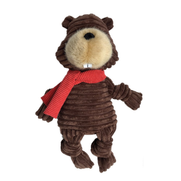 Fou Fou Dog Knotted Holiday Toy, Bever