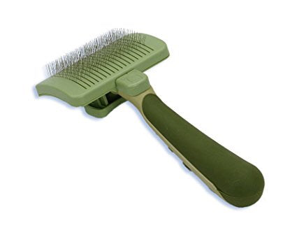 Safari Self-Cleaning Cat Slicker Brush
