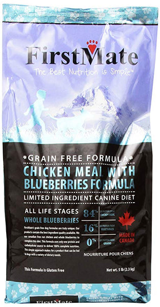 First Mate Dog Dry Grain Free Limited Ingredient 6.6 kg