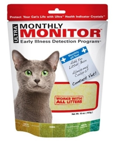 Monthly Monitor Early Illness Detection Litter Box PH test
