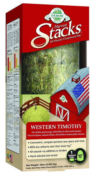 Oxbow Compressed Timothy Hay