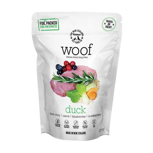 The New Zealand Natural Woof Freeze Dried Dog Treats
