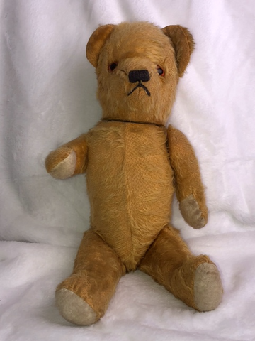 """Owen"" Vintage Teddy Bear (1950s)"