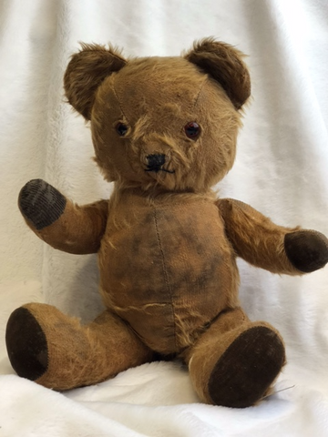 Vintage 1950's Brown Mohair Pedigree Bear