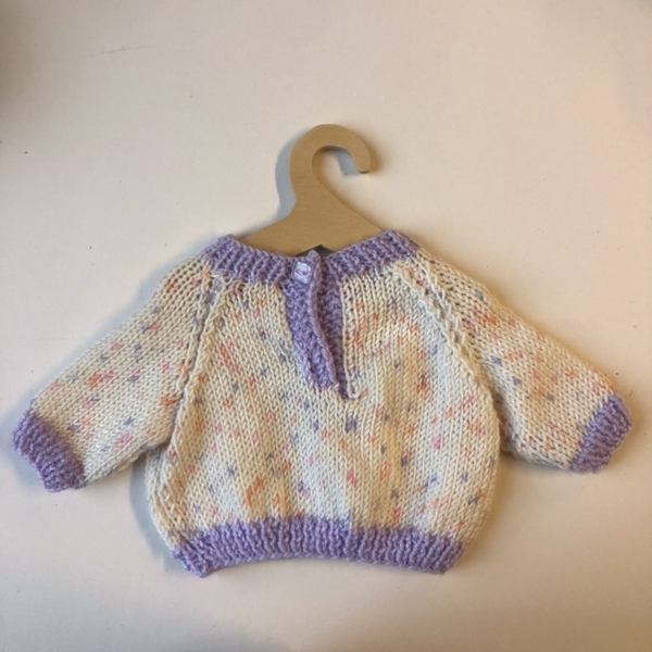 Hand Knitted Jumper for Teddy Bears