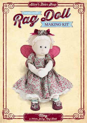 Rag Doll Making Kit - Meg 54cm when made