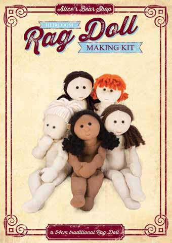Rag Doll Kit - Rag Doll Body - 54cm when made