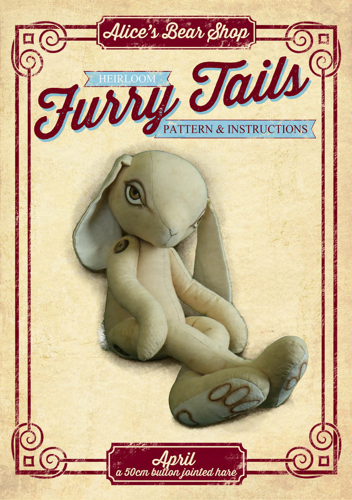 "April Hare Pattern and Instructions Download - 50cm/20"" when made"
