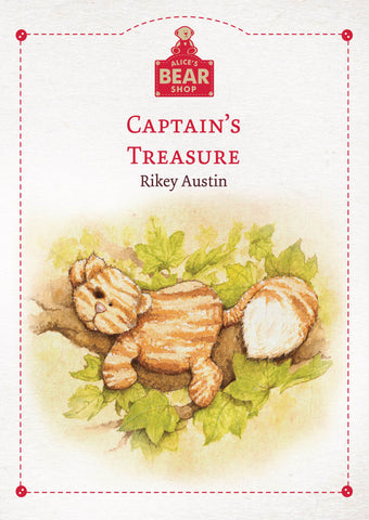 Captain's  Treasure - Hardback Book - Charlie Bears - Alice's Bear Shop