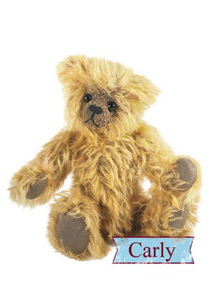 Teddy Bear Pattern and A5 Instruction Booklet - Carly Bear 22cm when made - Alice's Bear Shop