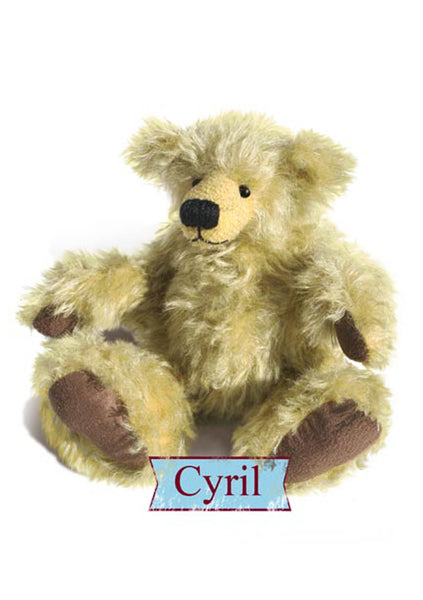 "Download - Pattern and Instructions - Cyril 22cm, 8.66"" when made - Alice's Bear Shop"