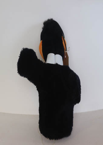 Daffy Duck Hand Puppet - Alice's Bear Shop