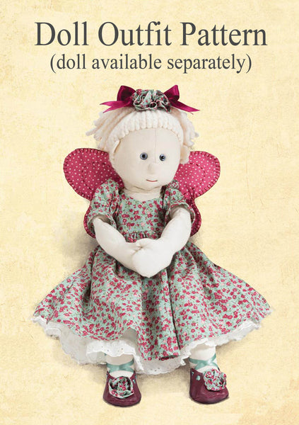 Rag Doll Outfit Pattern & Instructions Download