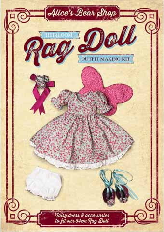 Rag Doll Making Kit Fairy Outfit