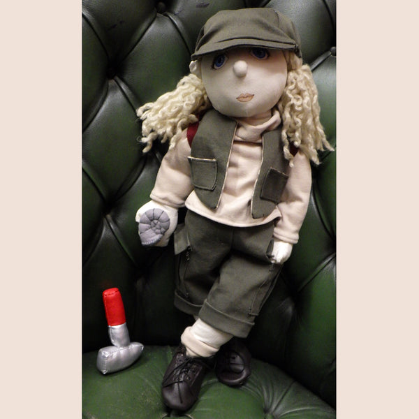Making Sewing a Rag Doll Fossil Hunter Outfit Clothes Pattern and Instructions Download Crafting Crafts