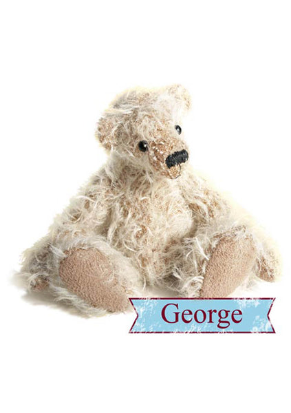 Teddy Bear Making Pattern & Instructions Download George