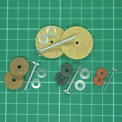 Cotter Pin Joints (Complete Set of 5) - For Jointing one Teddy Bear