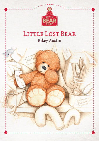 Little Lost Bear - Hardback Book - Charlie Bears - Alice's Bear Shop