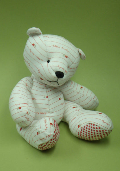 Making Sewing an Unjointed Memory bear Pattern and Instructions Download Crafting Crafts