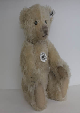 Mr Vanilla Teddy Bear - Steiff - Alice's Bear Shop