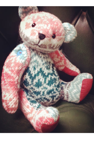"*DOWNLOAD* Making a Button Jointed Memory Bear Pattern and Instructions - Pauly Bear - 29cm/11.4"" when made - Alice's Bear Shop"