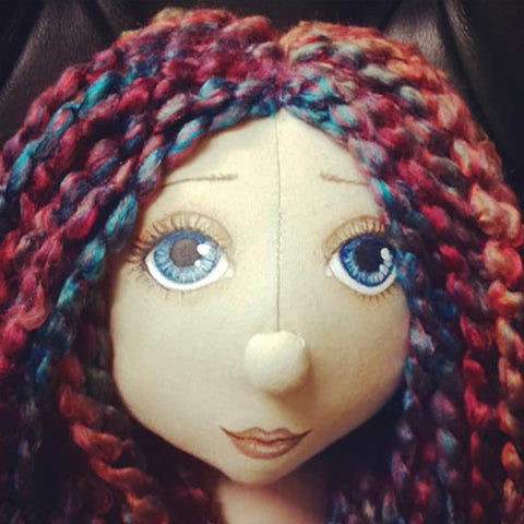 2 Hour Long -  Calico Rag Doll Face Painting Class - Deposit £10 - Total cost £30